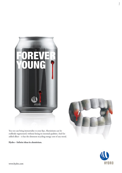 Forever young ad